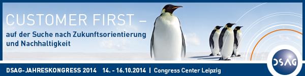 DSAG Jahreskongress 2014 in Leipzig